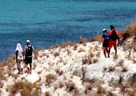 lagon et mada nosy trail à madagascar